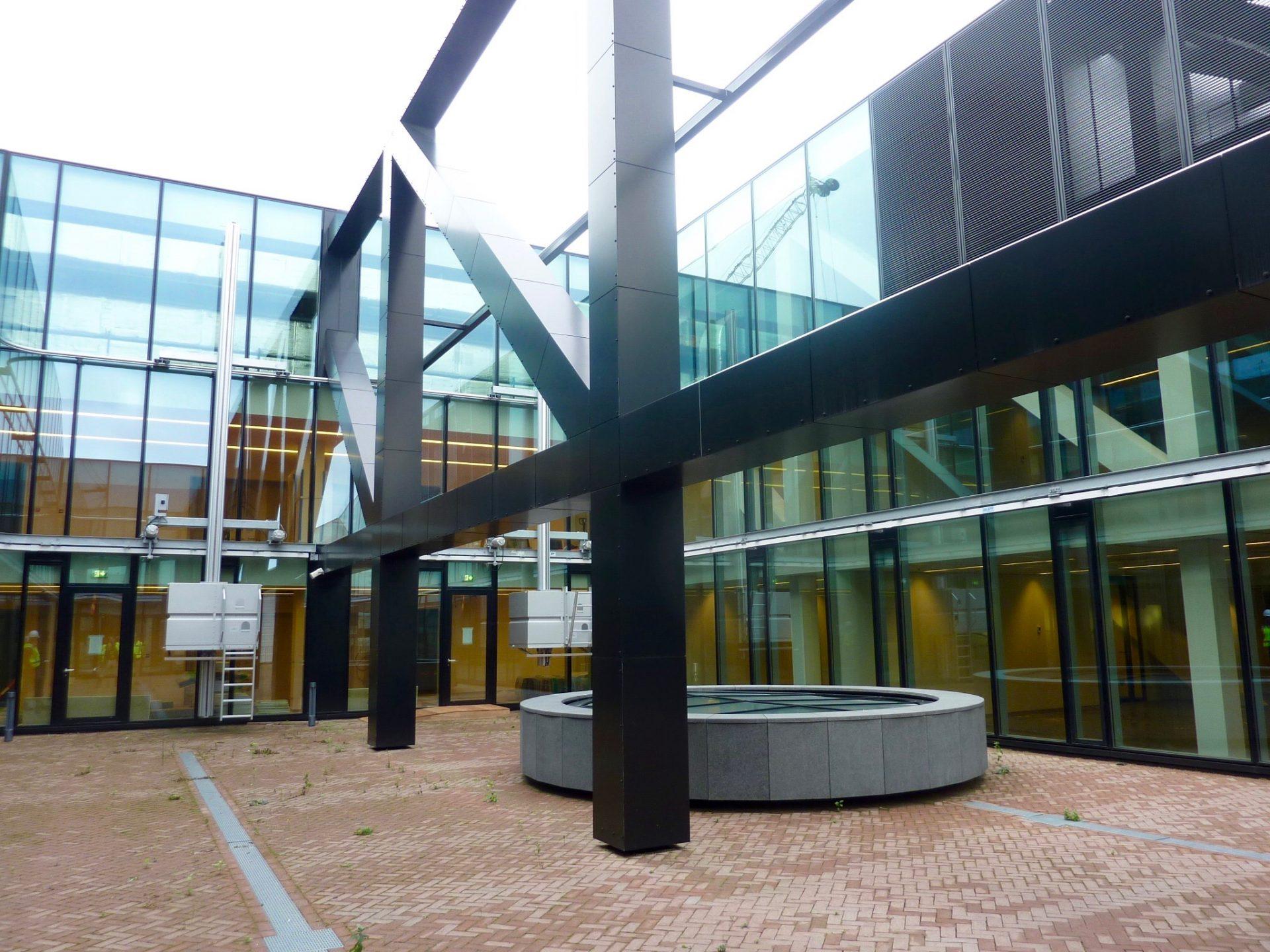 Het Nieuwe Kantoor : Gemeente delft overzichtsfoto het nieuwe kantoor delft