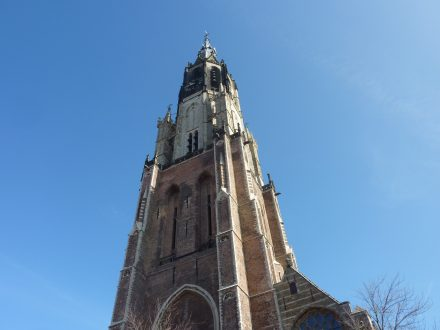 8 Kerktoren Nieuwe Kerk, Markt Delft P1100598 kopie