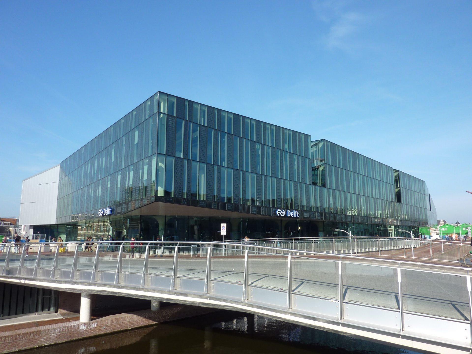 Het Nieuwe Kantoor : Delft overzichtsfoto het nieuwe kantoor delft van der mark van